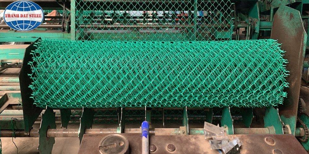 Sản phẩm lưới B40 bọc nhựa Thành Đạt Steel