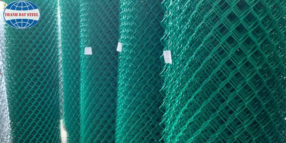 Nhà máy sản xuất lưới B40 bọc nhựa Thành Đạt Steel