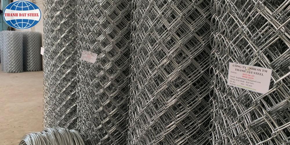 Sản phẩm lưới B40 mạ kẽm Thành Đạt Steel