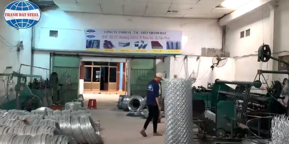 Nhà máy sản xuất lưới thép B40 Thành Đạt Steel